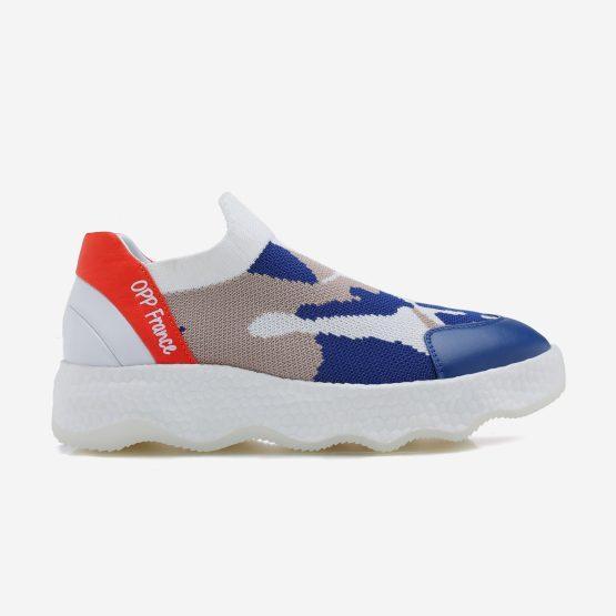 Women Casual Slip On Shoes Light Blue