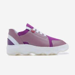 Women Casual Lace-Up Shoes  Violet