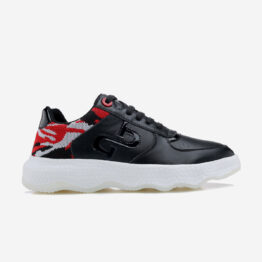 Casual Lace-Up Shoes Black