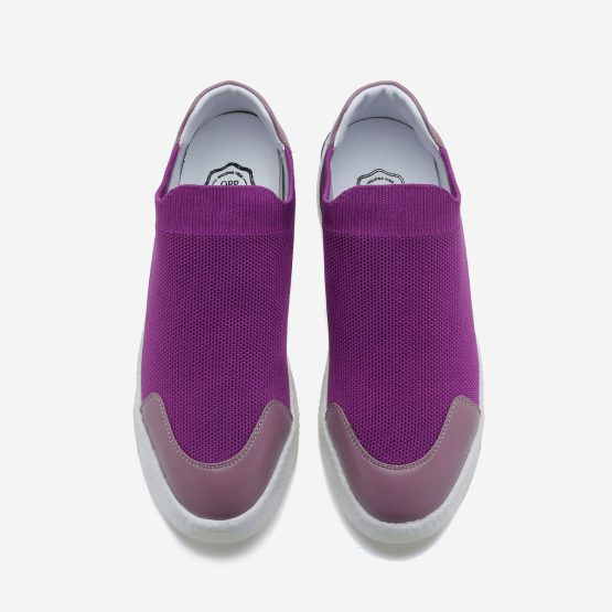 Women Casual Slip On Shoes Violet