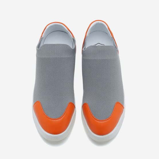 Women Casual Slip On Shoes Grey