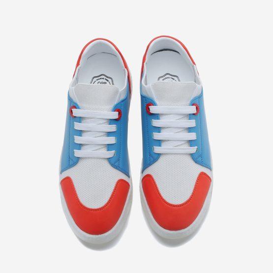 Women Casual Lace-Up Shoes Blue