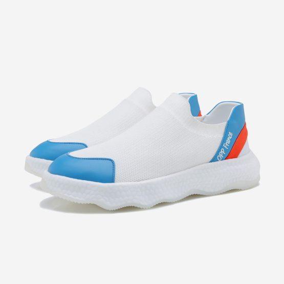 Women Casual Slip On Shoes Light White