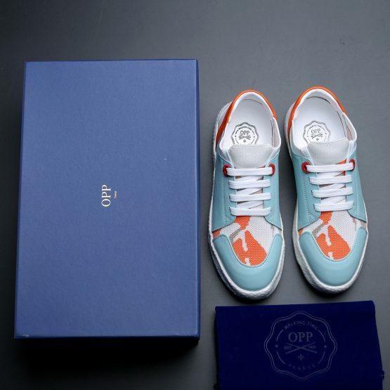Women Casual Lace-Up Shoes Light Blue