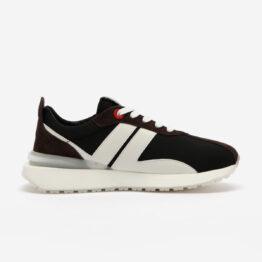 Black Nylon Bumpr Sneakers