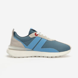 Light Blue Nylon Bumpr Sneakers