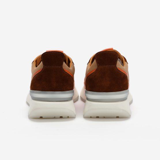 Yellow Nylon Bumpr Sneakers