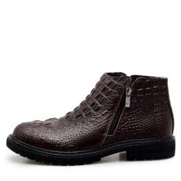 Men Chelsea boots Brown