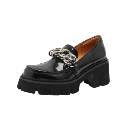 Women Metal Chain Platform Shoes