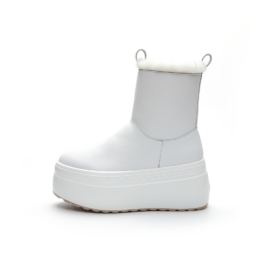Women Thick-Soled Snow Boots White
