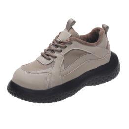 Women Ugly Cute Plus Velvet Old Shoes Gray