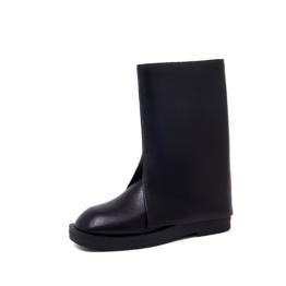 Women Bell-bottom Boots Black