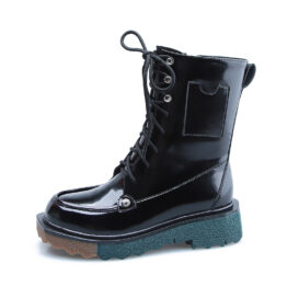Women Knight Boots Black