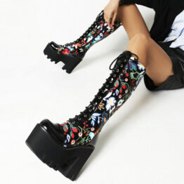Women's Ethnic Style High Boots